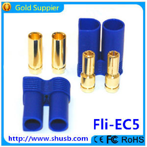 Ec3 Long Banana Plug with Soldering Point