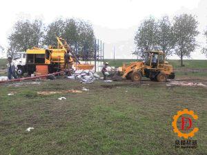 Sm5101chb-40c Forced Concrete Pump Truck pictures & photos