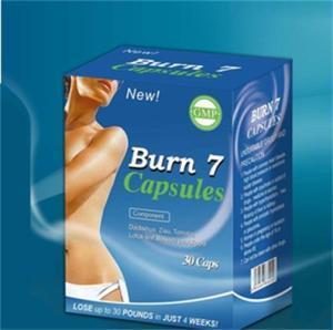 Super Hot Burn 7 Slimming Capsule Weight Loss Diet Pills