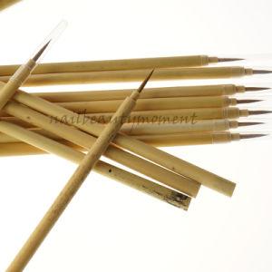 Manicure Kolinsky Art Nail Beauty Bamboo Brush Products (B036)