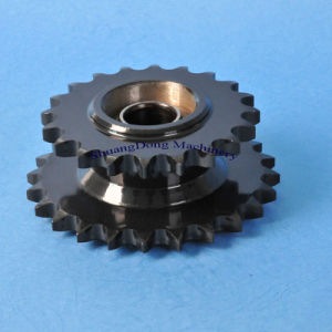Bearing Bore Welded Sprockets with Black Oxide Finished