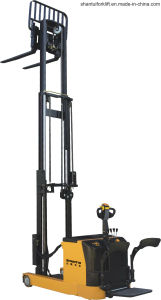 Electric Stacker with High Mast pictures & photos
