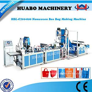 Nonwoven Bag Machine (HBL-C 600/700/800) pictures & photos