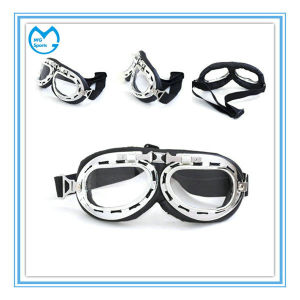 Unisex Anti-Fog Motorcycle Sports Glasses with Transition Lens pictures & photos