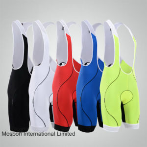 New Men Sport Riding Cycling Bicycle Bike 3D Padded Bib Shorts Coolmax Trouser pictures & photos