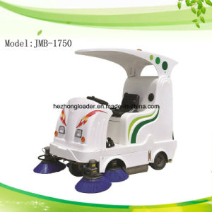 Electric Industrial Ride on Road Sweeper Machine