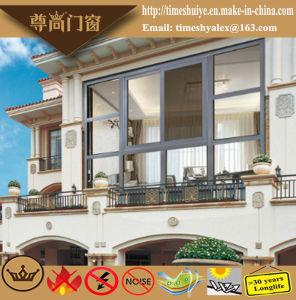 Customizable Double Layer Clear Glass Aluminium Casement Windows pictures & photos