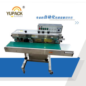 Automatic Plastic Bag Sealing Machine/Sealer with Ink Printing Function pictures & photos