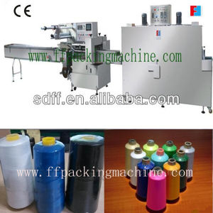 Full Automatic Sewing Thread Heat Shrink Wrapping Machine pictures & photos