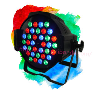 36X3w LED PAR Light 4 In1 8 Channelled Disco PAR Light pictures & photos