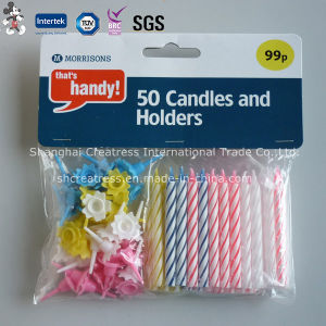 Wholesale Decorative Spiral Candle for Birthday pictures & photos