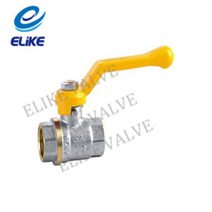 "1/2""-3"" Brass Ball Valve with Nickel Coating"