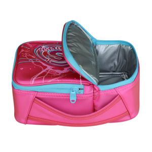 High Quality Two Compartments Fruit Drink Lunch Cooler Bag pictures & photos