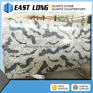 Artificial Solid Surface Engineed Quartz Stone for Kitchen Countertops and Vanity Tops pictures & photos