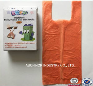 High Quality Plastic Nappy Diasper Sacks with Fragrance pictures & photos