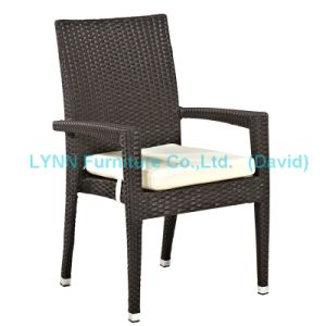 Garden Furniture Rattan Armchair Stackable Chair pictures & photos