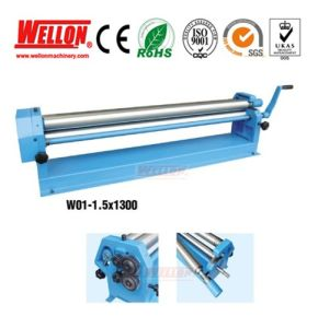 Manual Slip Rolling Machine (Slip Roller W01 0.8X1000 W01 1.5X1300) pictures & photos