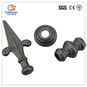 Safety Fence and Gate Accessories Head Ball Wrought Iron pictures & photos