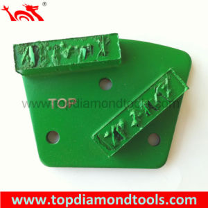 Splite PCD Grinding Pad with 2 Rectangle Segments pictures & photos
