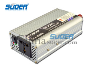 Suoer 1500W DC 12V to AC 220V Power Inverter with CE&RoHS (SAA-1500A) pictures & photos