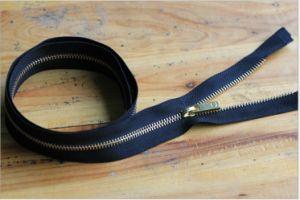 Item: 3# 60cm Open End Metal Zipper, Automatic Lock pictures & photos