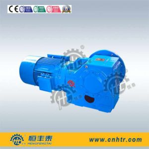 K157 Flanged Mounted Bevel Gearmotor with Electric Motor for Metal Shredder Machine