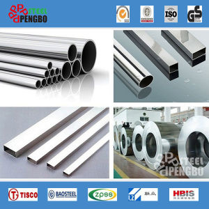 Ty409 410 420 430 Seamless Stainless Steel Pipe pictures & photos