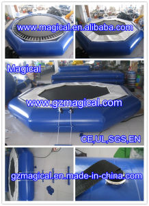 Aquatic Inflatable Trampoline Inflatable Water Trampoline with Steel Spring (RA-055) pictures & photos