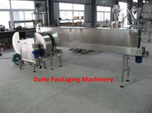 Empty Cans Turning, Degauss and Blowing Machine pictures & photos