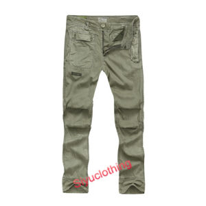 Men Pocket Cargo Long Comfokfit Comrtable Fashion Pants (P-1520) pictures & photos