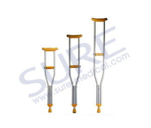 Popular Aluminum Adjustable Under Arm Crutches with CE & ISO pictures & photos