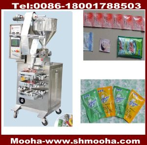 Automatic Shampoo/Liquid/Cosmetic/Paste Sachets Packing Machines (3~50ml) pictures & photos
