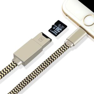 Multi Use USB Data Cable Microsd Card Reader 8pin Lightning OTG for iPhone iPad pictures & photos