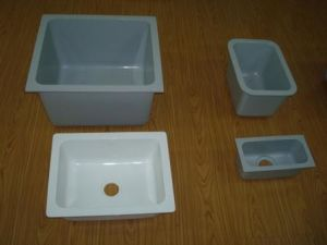 Epoxy Resin Sink Wall Bench for Soil Laboratory Equipment