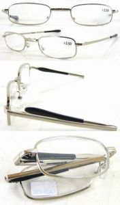 Classic Metal Folding Reading Glasses (RM110017) pictures & photos