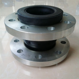 Natural Iron Pump Connector Rubber Expansion Joint pictures & photos