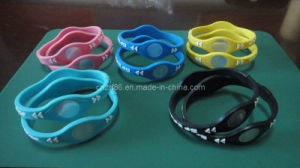 Porfessional Power Ion Silicone Bracelets pictures & photos