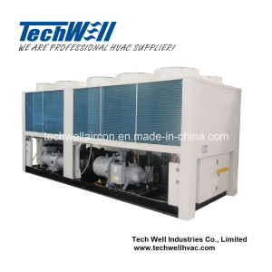 R22 Heat Pump Type Air Cooled Screw Water Chiller pictures & photos