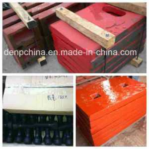 Best Quality Jaw Crusher Toggle Plate for Export pictures & photos