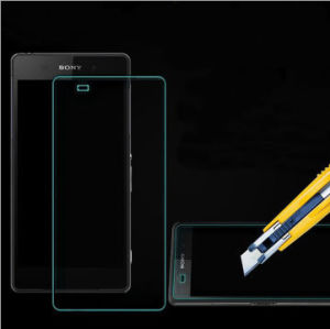 Mobile Phone Accessories Tempered Glass Screen Protective Film for Sony Z3 Mini Screen Film