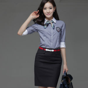 Women Official Uniform for Airline Stewardess and Hotel Workwear pictures & photos