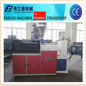 Double Screw PVC Pipe Extruder Machine pictures & photos