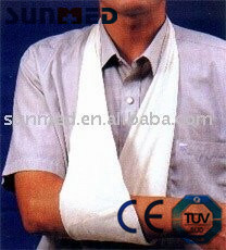 Non Woven Medical Triangular Bandage pictures & photos