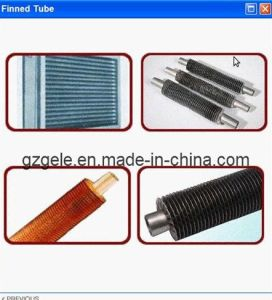 Carbon Steel Fin Tube Circled with Carbon Steel Fins