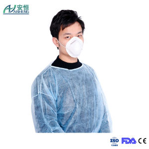 Disposable Medical Isolation Hospital Gown Exam Protective Gown pictures & photos