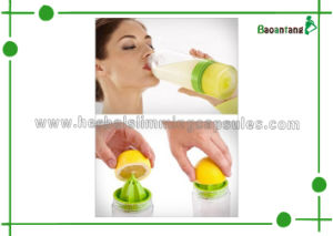 Drinking Bottle Citrus Zinger Bottle Orange Lemon Juicer Reusable Water Bottle