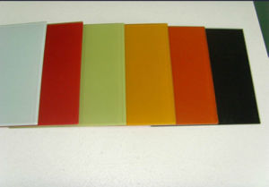 Strengthened High Quality Colored Glass with Competitive Price pictures & photos