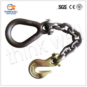 Galvanized Steel Chain Assembly with Pear Ring pictures & photos