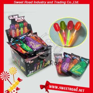 Strawberry Fluorescence Stick Lollipop