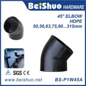 45 Degree HDPE Pipe Fitting Elbow pictures & photos